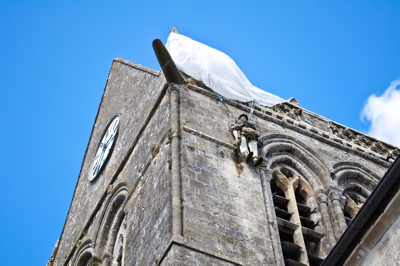 Igreja glise do ½ do ¿ do ½ do ¿ de Sainte-Mï do re-ï imagem de stock royalty free