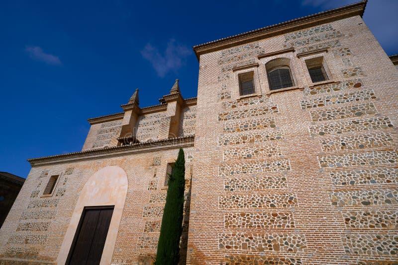 Igreja Granada de Santa Maria de Alhambra fotografia de stock royalty free