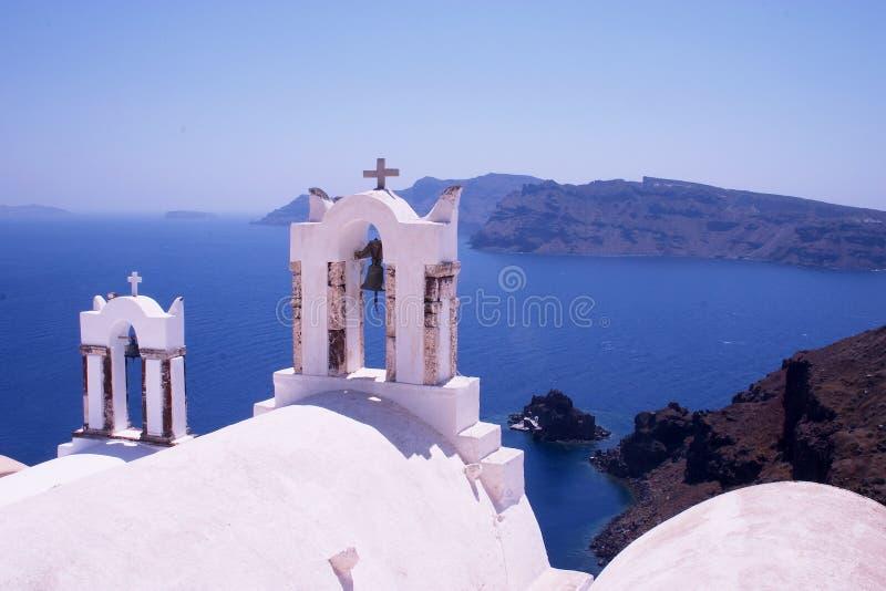 Igreja Grega 1 Fotos de Stock Royalty Free