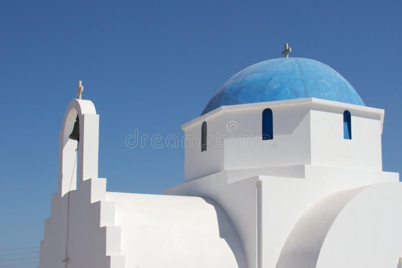 Igreja grega foto de stock royalty free