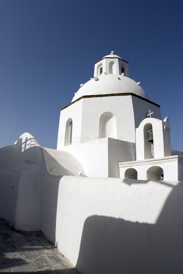 Igreja grega clássica do console foto de stock royalty free