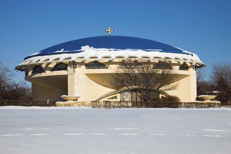 Igreja grega em Milwaukee imagem de stock royalty free