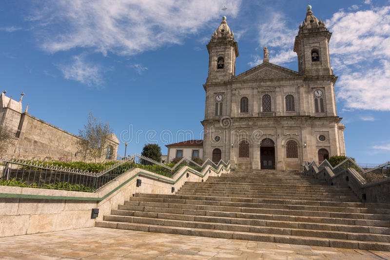 Igreja hace Bonfim, Oporto, Portugal fotos de archivo libres de regalías