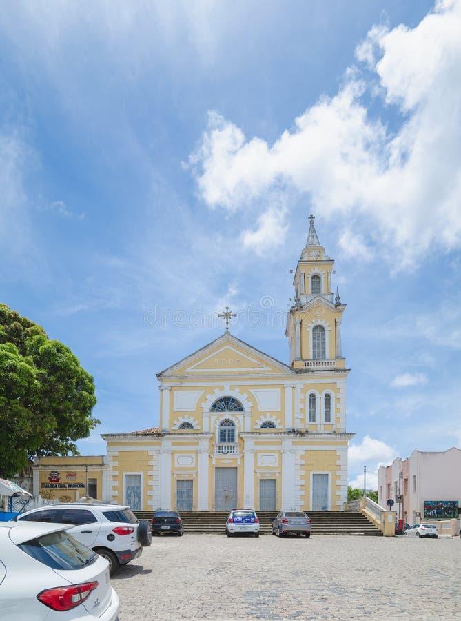 Igreja histórica do PB Brasil de Joao Pessoa imagens de stock royalty free