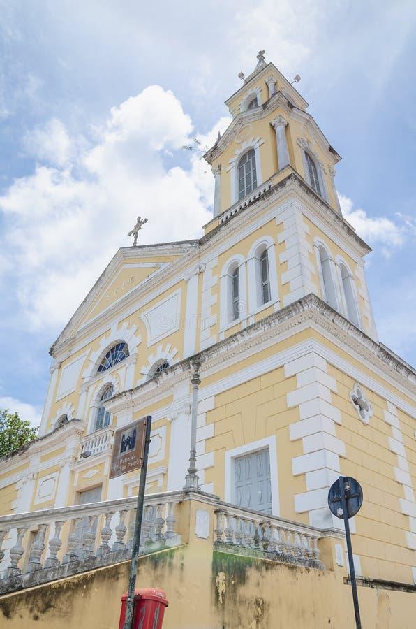 Igreja histórica do PB Brasil de Joao Pessoa fotos de stock royalty free