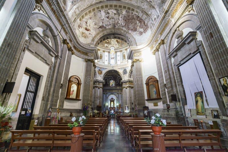 A igreja histórica - Iglesia de Nuestra Senora de Loreto fotos de stock