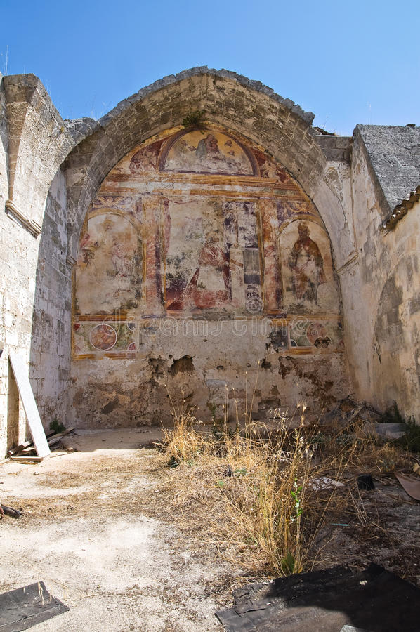 Igreja histórica Laterza Puglia Italy foto de stock royalty free