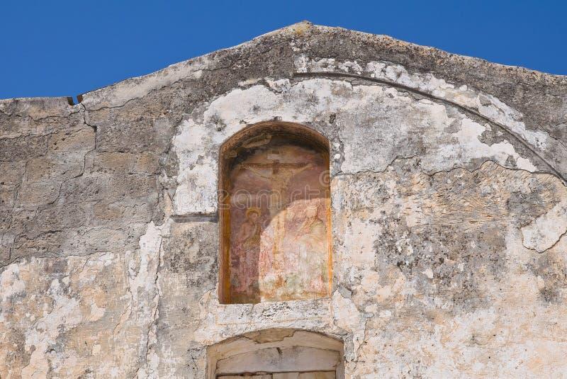 Igreja histórica Laterza Puglia Italy fotografia de stock
