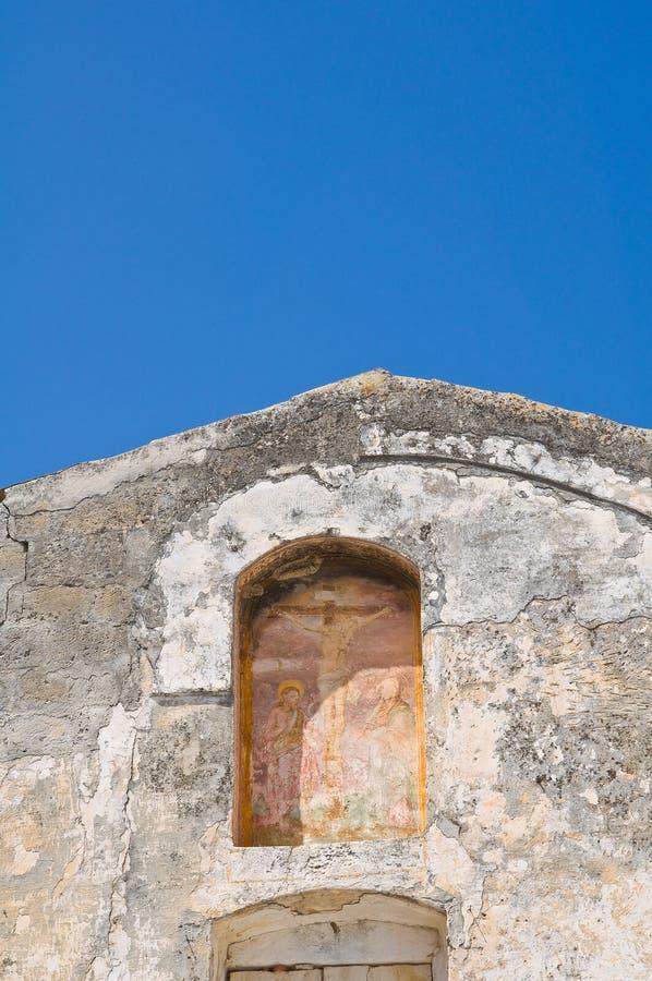 Igreja histórica Laterza Puglia Italy imagens de stock