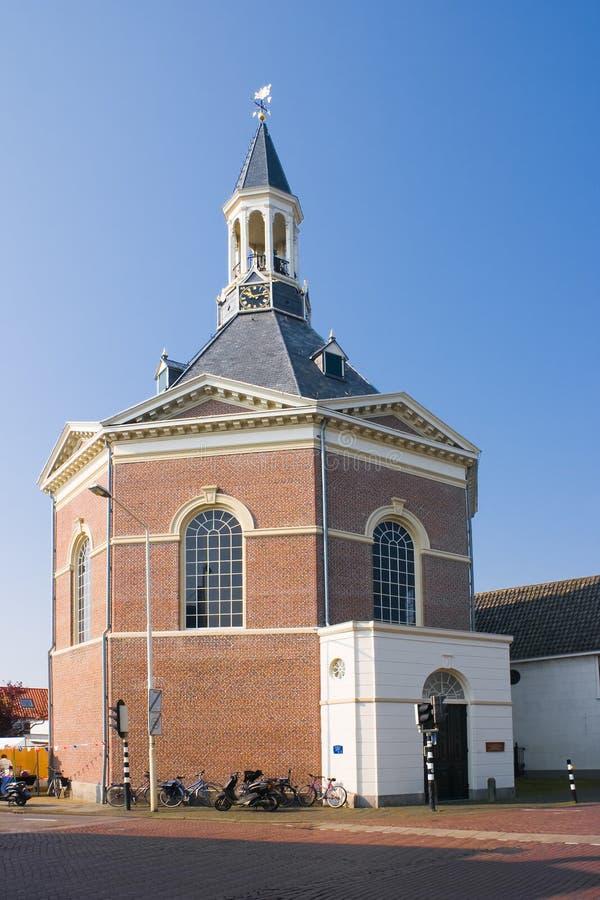 Igreja holandesa da vila fotos de stock royalty free