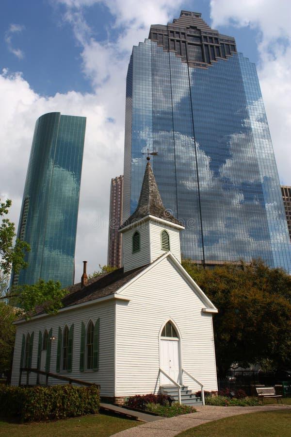 Igreja Houston do St John fotografia de stock