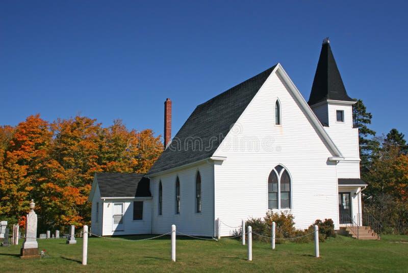 Igreja II do país foto de stock royalty free