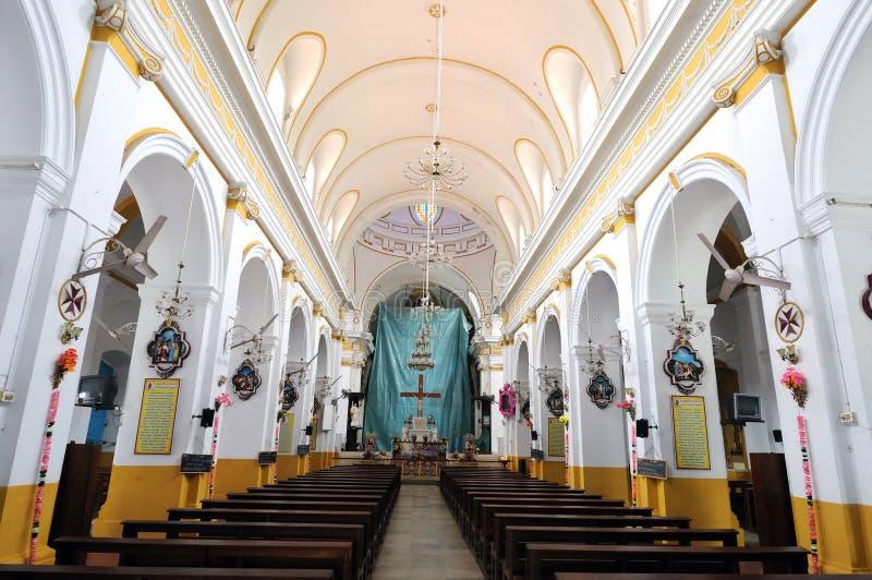 Igreja imaculada do conceptin foto de stock