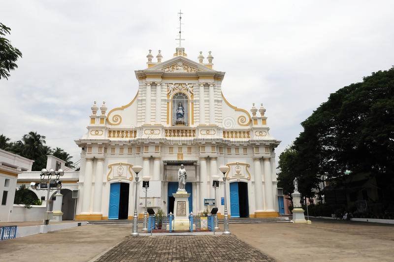Igreja imaculada do conceptin imagens de stock royalty free