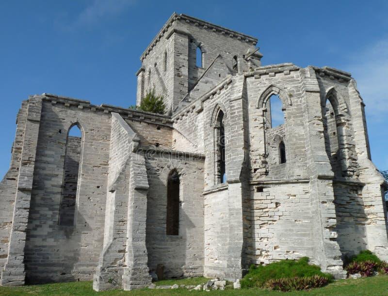 Igreja inacabado fotos de stock royalty free