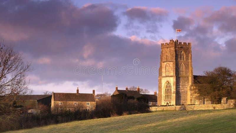 Igreja inglesa fotos de stock