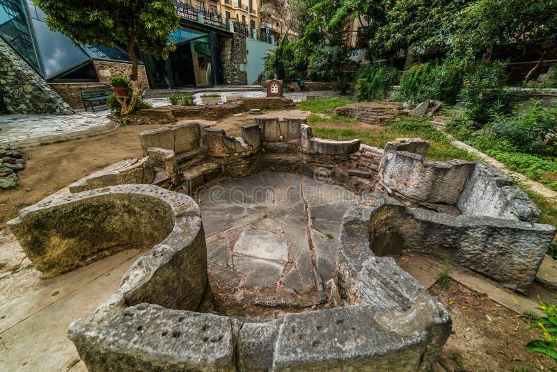 Igreja John The Baptist, detalhes, em Grécia foto de stock royalty free