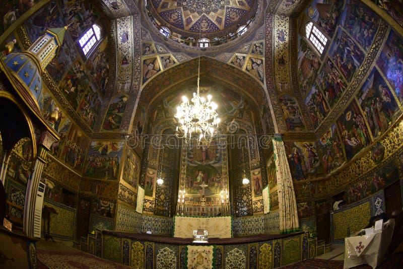 Igreja judaica em Isfahan, Irã 14 de setembro de 2016 fotografia de stock royalty free