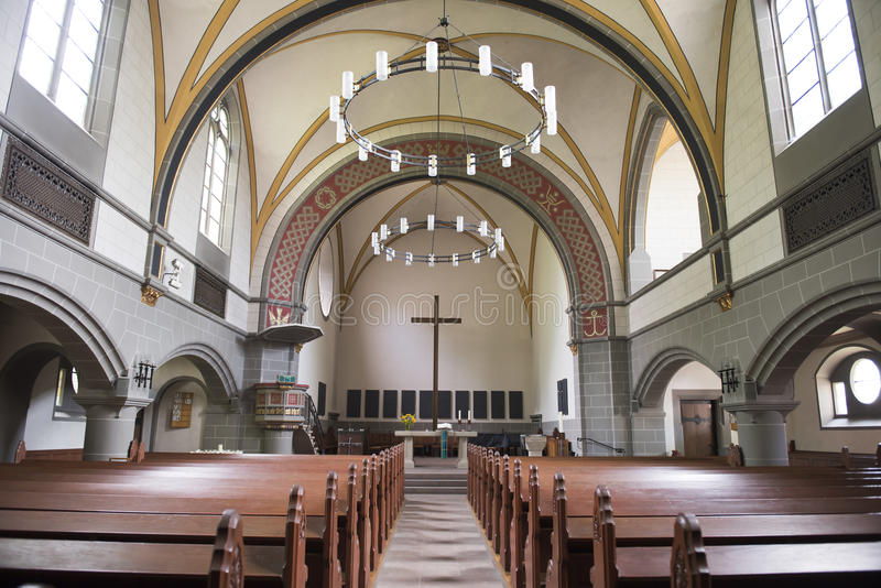 Igreja Kassel de Cristo imagem de stock