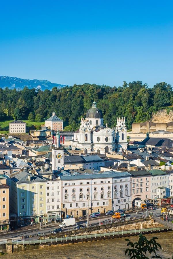 Igreja Kollegienkirche da universidade em Salzburg, Áustria imagem de stock royalty free