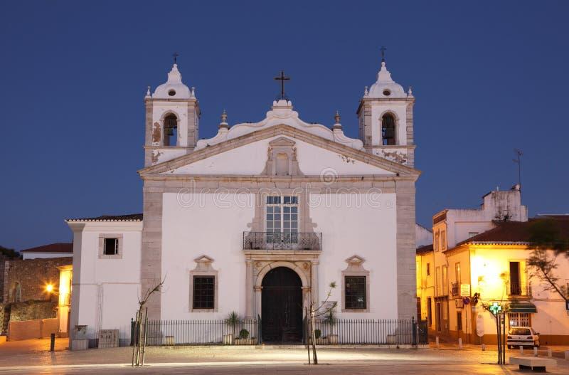 igreja lagos maria Португалия santa стоковые изображения rf
