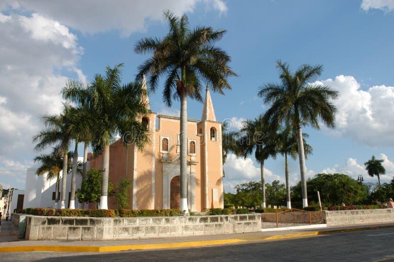Igreja - México fotografia de stock royalty free