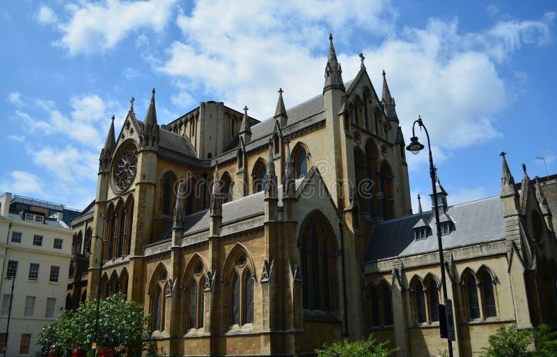 Igreja majestosa foto de stock