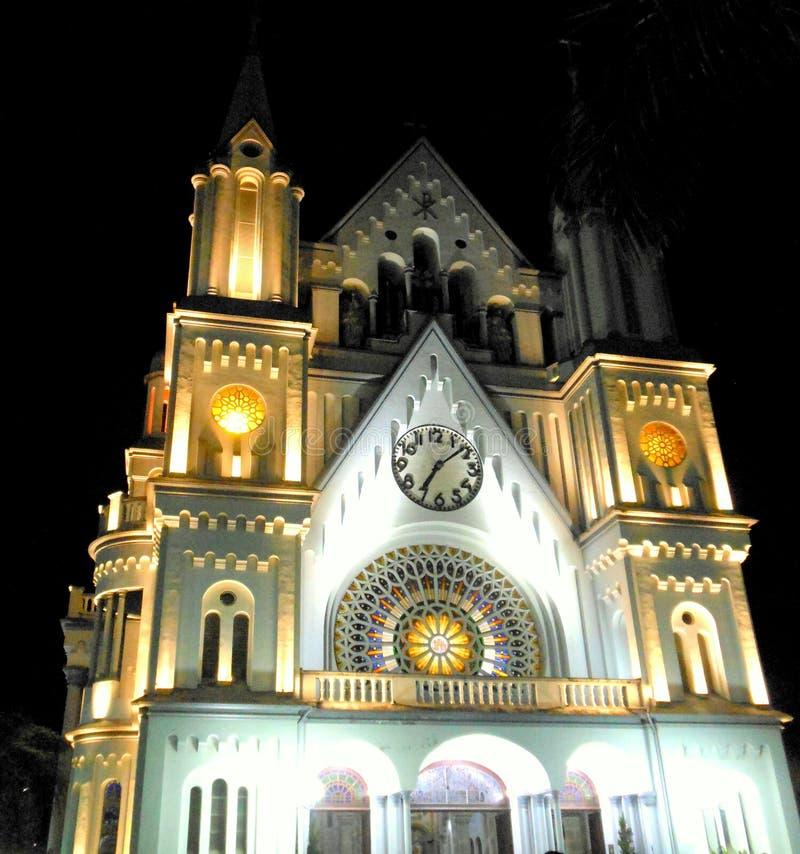 Igreja Matriz do Santíssimo Sacramento, Itajaí,Brazil royalty free stock photos