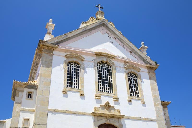 Igreja Matriz en Albufeira Portugal fotos de archivo libres de regalías