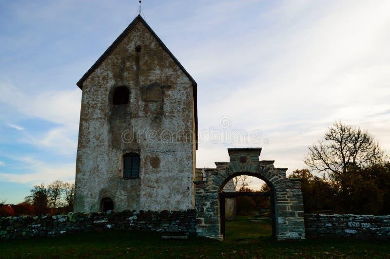 Igreja medieval foto de stock