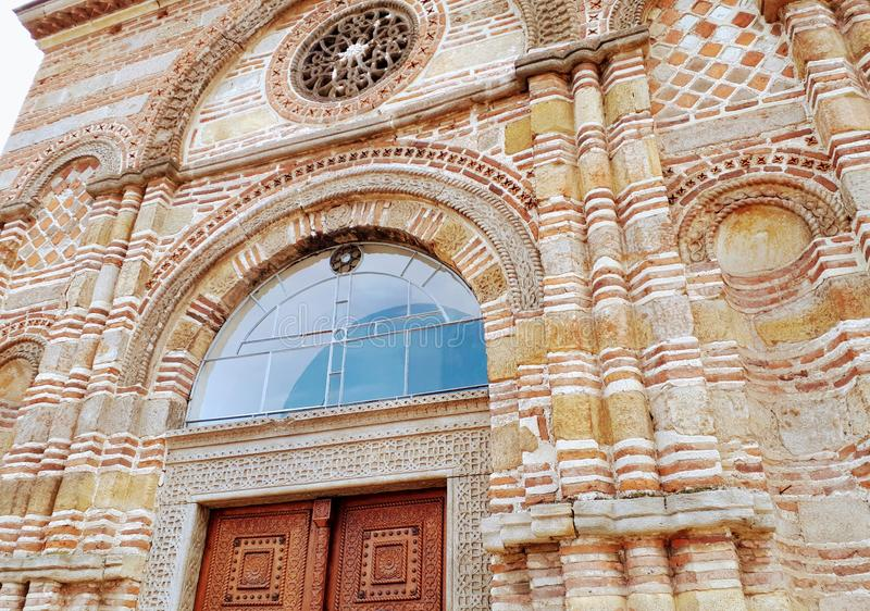 Igreja medieval de Lazarica imagens de stock royalty free