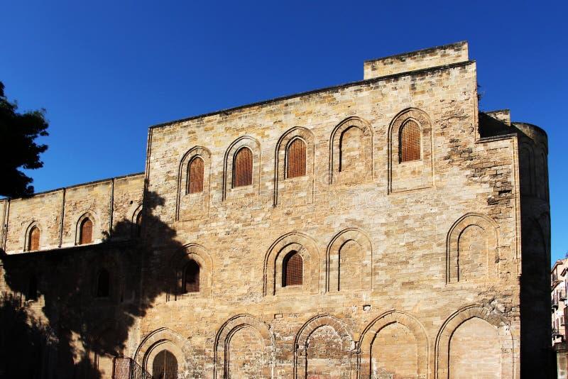 A igreja medieval do magione, palermo foto de stock royalty free