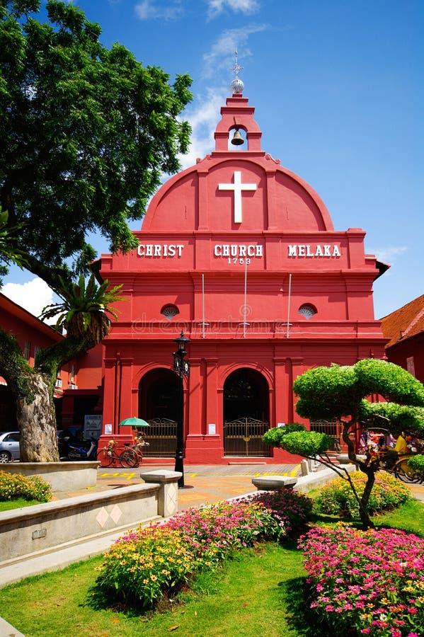 Igreja Melaka de Christ fotografia de stock