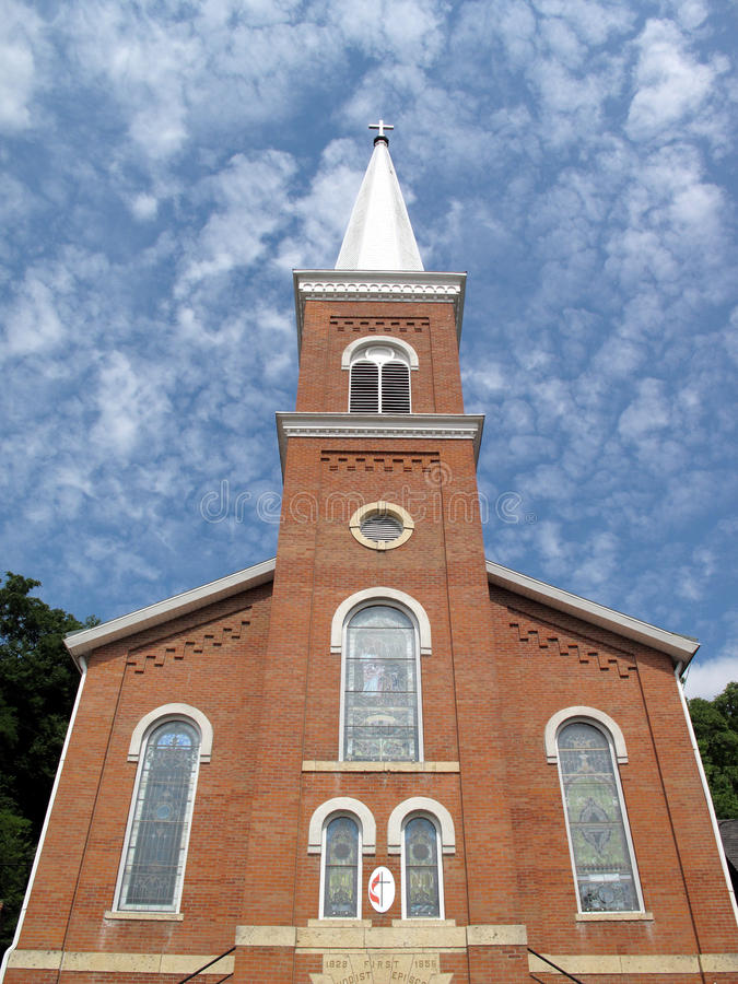 Igreja Metodista Foto de Stock Royalty Free