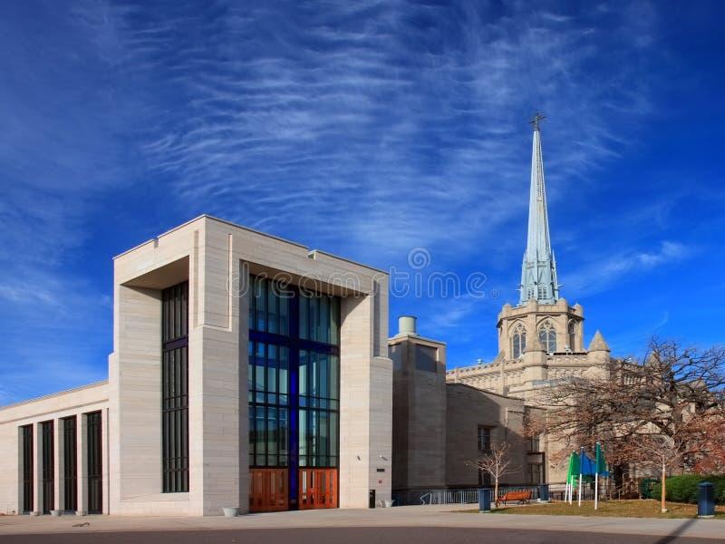Igreja metodista unida avenida de Hennepin foto de stock royalty free