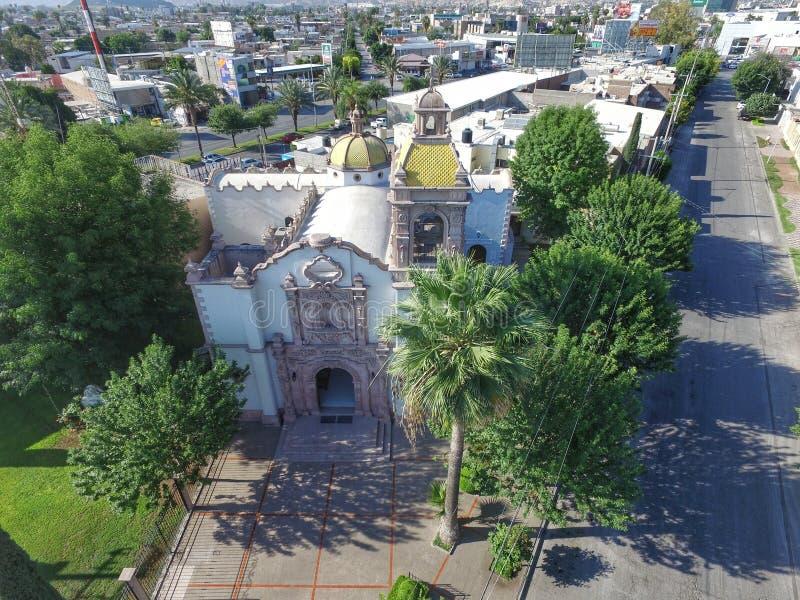 Igreja mexicana 2 fotos de stock