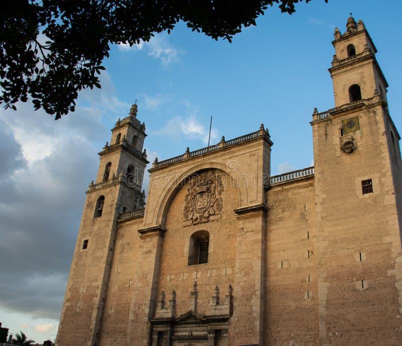 Igreja mexicana velha foto de stock royalty free