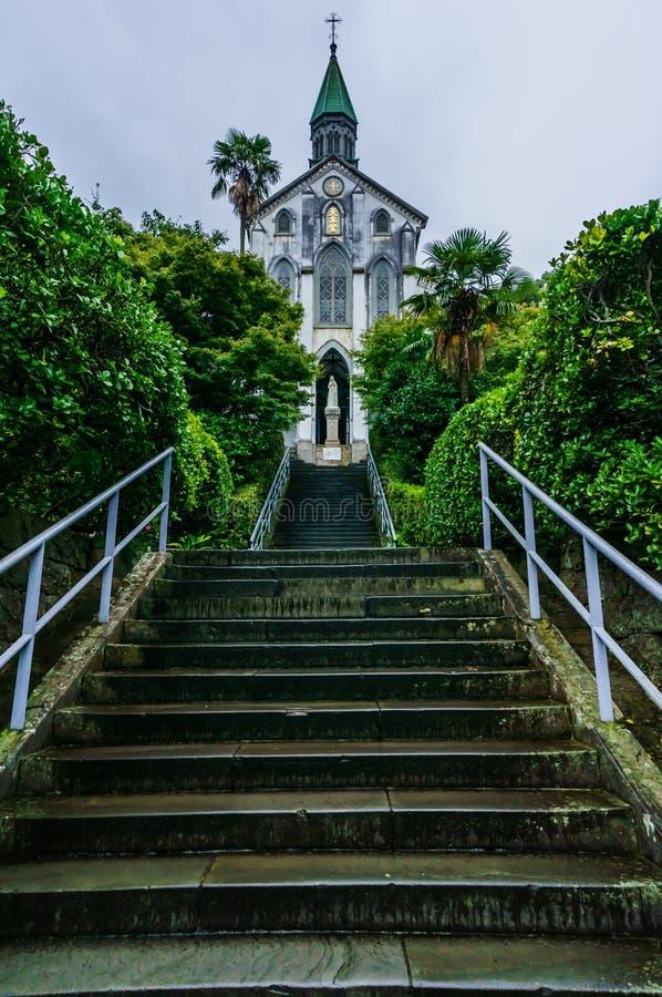 Igreja Nagasaki de Oura imagens de stock