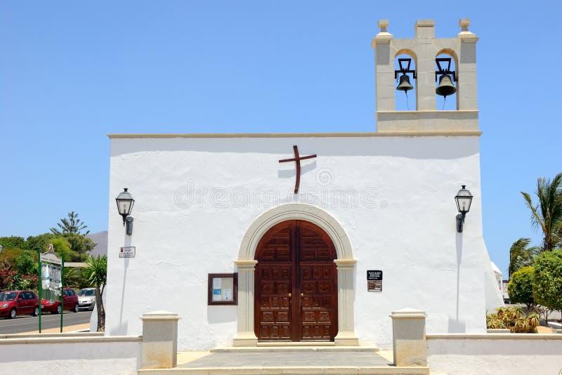Igreja no BLANCA de Playa imagem de stock royalty free