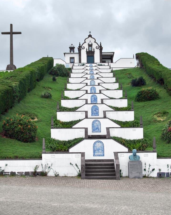 Download Igreja No Console De Miguel Do Sao Imagem de Stock - Imagem de miguel, hedge: 26518629
