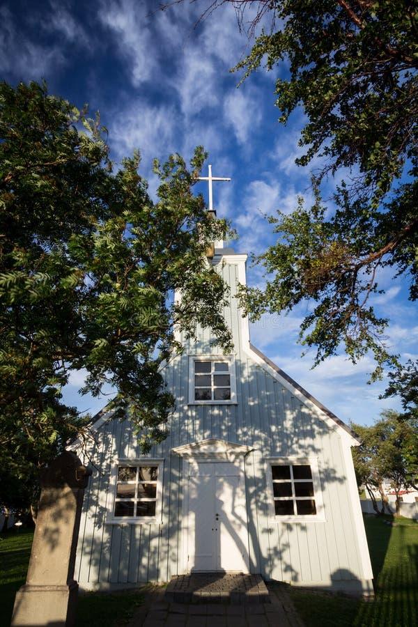 Igreja no por do sol fotos de stock