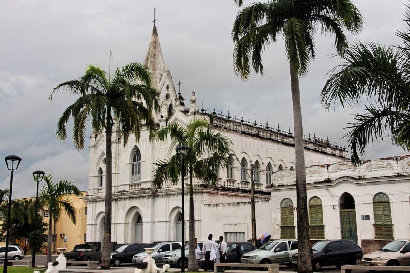 A igreja no Sao Luis faz Maranhao foto de stock royalty free