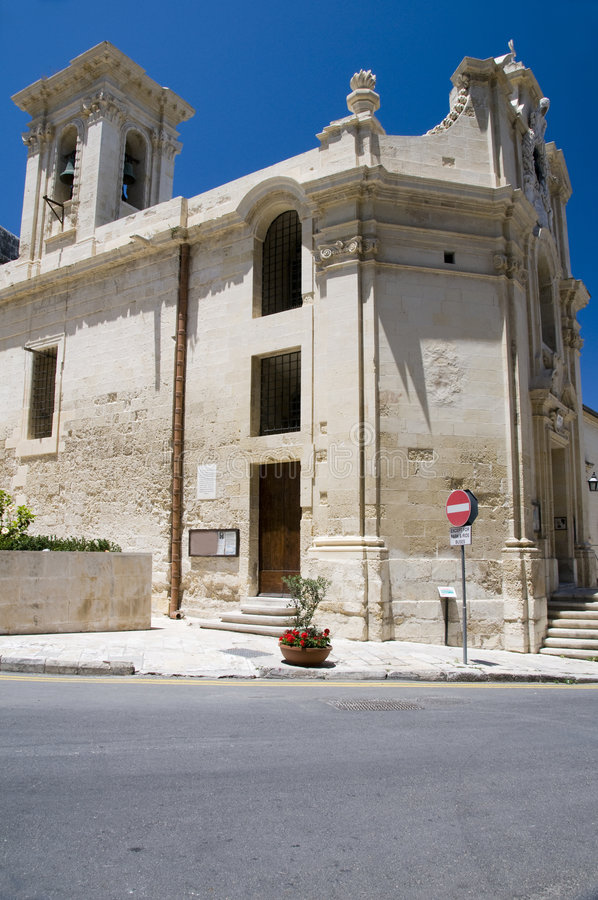 Igreja nossa senhora das vitórias valletta malta fotos de stock royalty free