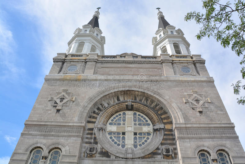 Igreja Notre-Dama-DES-Sept-Douleurs foto de stock royalty free