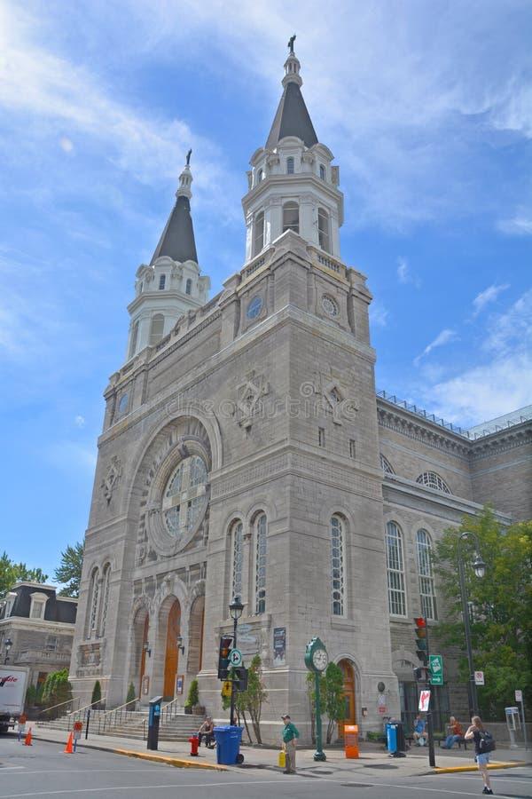 Igreja Notre-Dama-DES-Sept-Douleurs fotos de stock royalty free