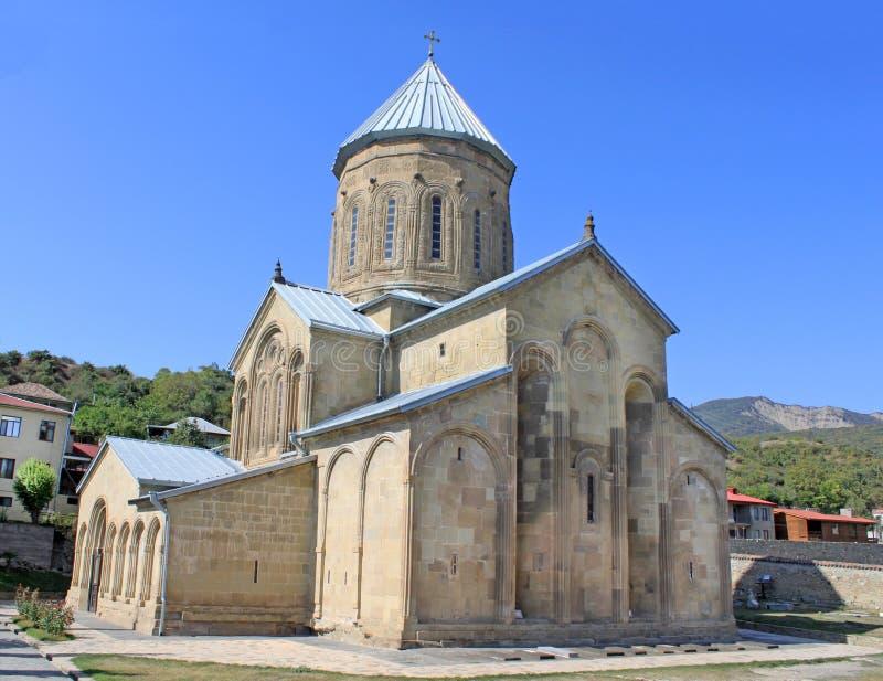 Igreja ortodoxa do Transfiguration de Samtavro fotografia de stock