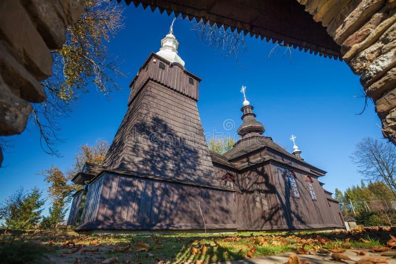Igreja ortodoxa em Brunary, Polônia imagens de stock royalty free