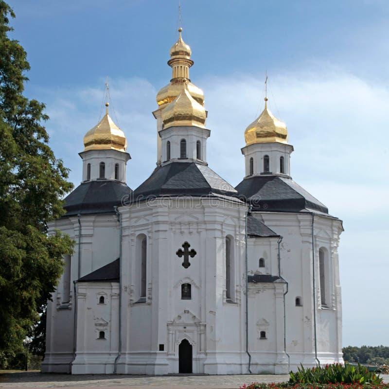 Igreja ortodoxa em Chernigiv, Ucrânia imagens de stock