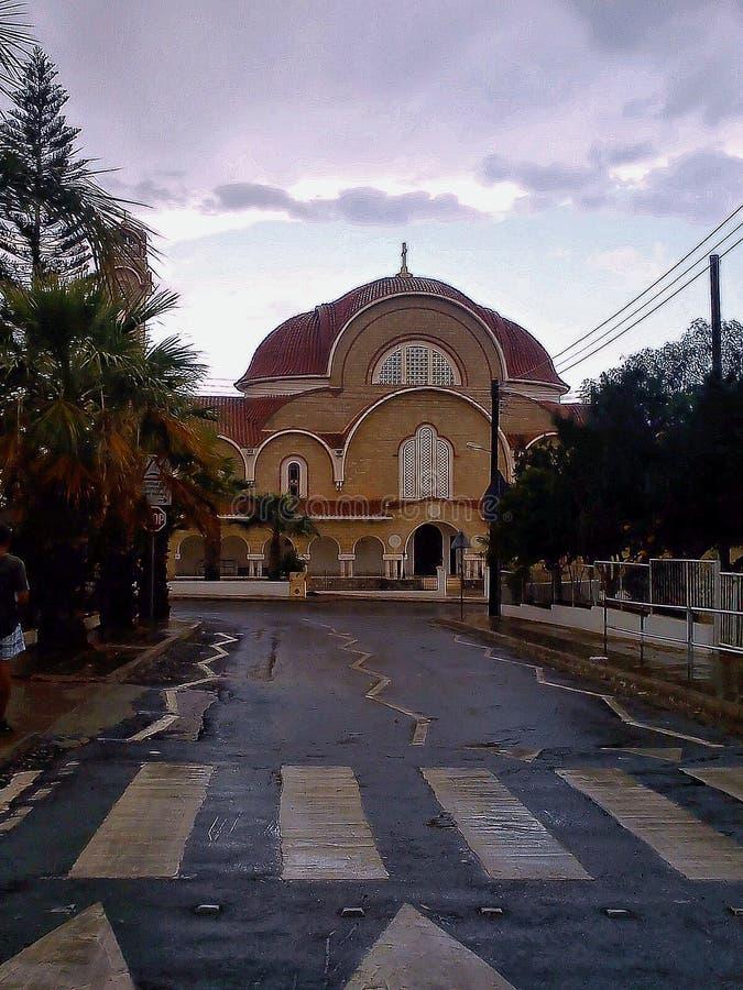 A igreja ortodoxa em Chipre imagem de stock royalty free