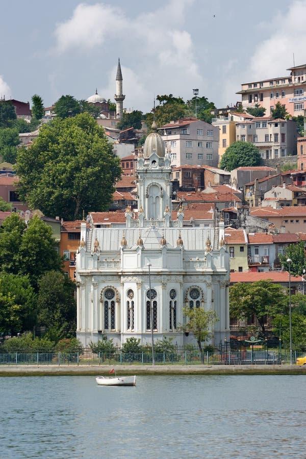 Igreja ortodoxa em Istambul imagem de stock